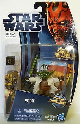 Yoda Star Wars Tpm The Clone Wars Action Figure Cw5 2012