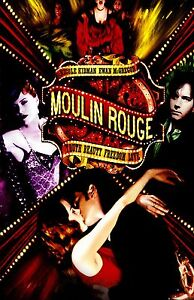 MOULIN ROUGE movie poster print  : 11 x 17 inches NICOLE KIDMAN