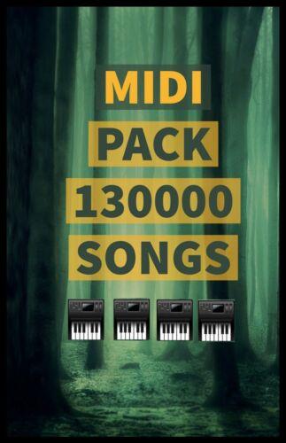 MIDI Pack 130 000 Songs + Chords and Loops