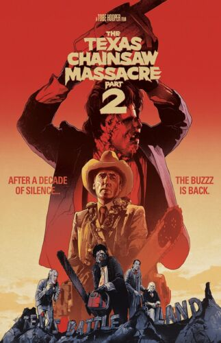 """The Texas Chainsaw Massacre 2 movie poster : 11"""" x 17"""""""