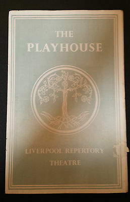 1948 The Playhouse Liverpool: Valerie Hanson Brian Wilde in THE PROVOKED WIFE