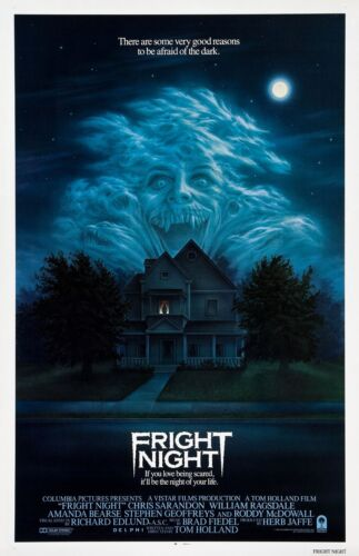 Fright Night movie poster : 11 x 17 inches : Horror