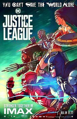 Justice League movie poster (JL5) - 11 x 17 inches - Wonder Woman, Batman