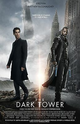 The Dark Tower Poster  F     11  X 17  Inches    Idris Elba  Matthew Mcconaughey