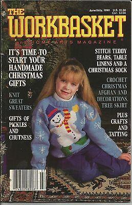 Винтажные VINTAGE WORKBASKET JUNE/JULY 1990 ISSUE