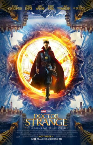 "Doctor Strange movie poster print (c)  - 11"" x 17"" inches Benedict Cumberbatch"