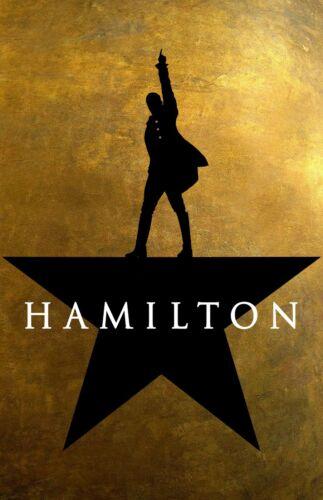 Hamilton poster  - 11 x 17 inches