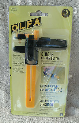 Olfa 18mm Circle Rotary Cutter #1057028 ~ NEW ~ Free Shipping