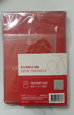 BTS official love your self tour passport case full set [sealed] + track