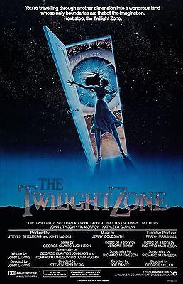 "The Twilight Zone movie poster -  11"" x 17"" inches - Twilight Zone Movie"