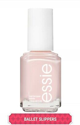 Essie Nail Polish # 096 BALLET SLIPPERS Light Sheer Pink Full Size+AVON FILE! 🎁