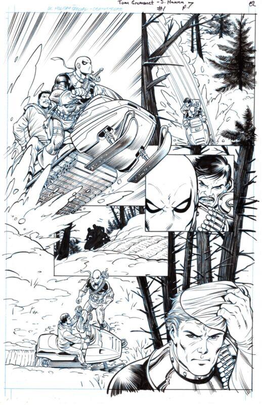Tom Grummett Deathstroke DC Holiday #1 pg 7