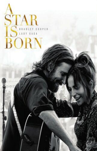 A Star Is Born movie poster (e)  : 11 x 17 inches - Lady Gaga, Bradley Cooper