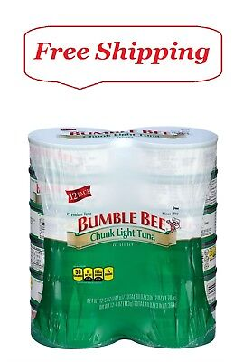 Bumble Bee Chunk Light Tuna in Water 5 oz., 12 ct. Bumble Bee Chunk Light Tuna