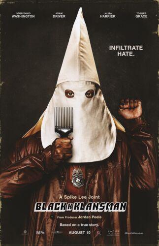 "Black Klansman movie poster - 11"" x 17"" - Spike Lee"