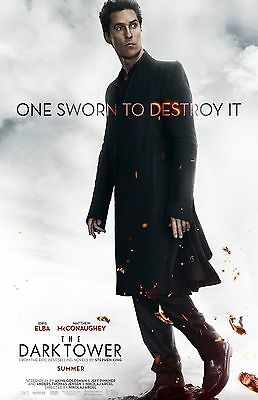 The Dark Tower Poster  B     11  X 17     Matthew Mcconaughey  Stephen King