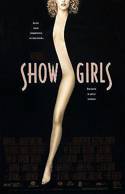 """Showgirls movie poster - Elizabeth Berkley - 11"""" x 17""""  inches"""