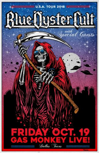 Blue Oyster Cult  Concert Poster