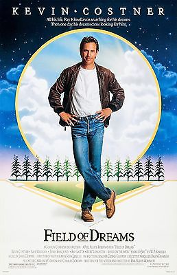 """Field Of Dreams movie poster -  11"""" x 17"""" inches - Kevin Costner, Baseball"""