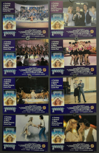 XANADU 1980 ORIGINAL 11X14 MINT LOBBY CARD SET OLIVIA NEWTON-JOHN GENE KELLY