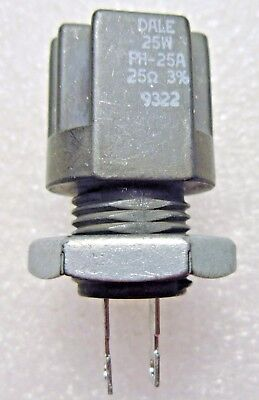 Ph-25a Dale Wirewound Resistor Resistor 25w 25ohm 3