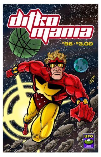 New! DITKOMANIA #96 July 2018 issue Steve Ditko comics fanzine Starman Questar