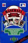 1989 Upper Deck Baseball Card Boxes