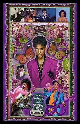 Prince 11X17  Poster  Signed By Artist  Vivid Colors   Very Detailed