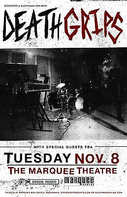 DEATH GRIPS 2016 PHOENIX CONCERT TOUR POSTER - Alternative Hip-Hop Music