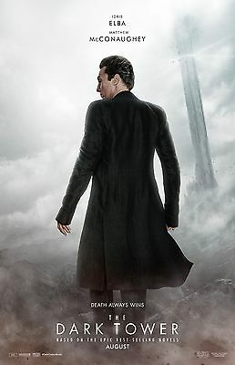 The Dark Tower Poster  D     11  X 17     Matthew Mcconaughey  Stephen King