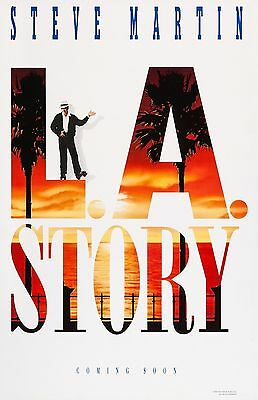 """L.A. Story movie poster -  11"""" x 17"""" inches - Steve Martin"""