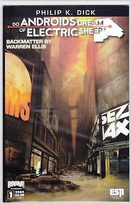 DO ANDROIDS DREAM OF ELECTRIC SHEEP #1C / BOOM STUDIOS / BLADERUNNER MOVIE
