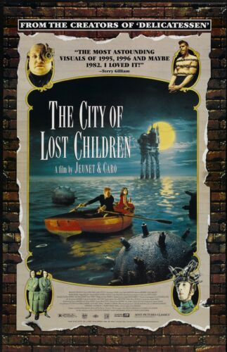 The City Of Lost Children movie poster - 11 x 17 inches