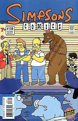 Simpsons Comics 108 Bongo 2005 Big House Homer   Dixon Costanza DeCarlo