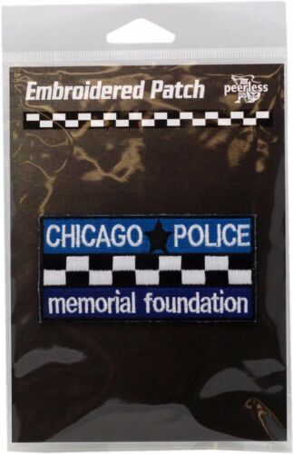 CPD Memorial Full Color Bar Patch