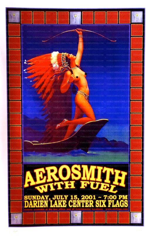 Aerosmith Concert Poster 2001
