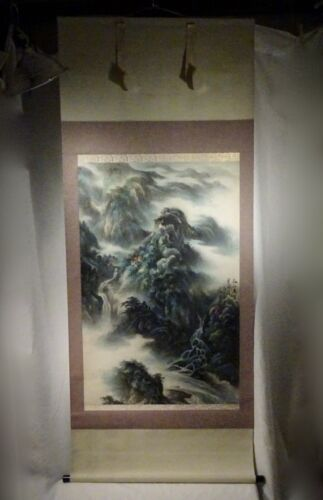 Vintage Chinese Scroll Painting      -  58053