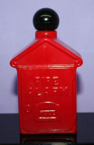 Vintage Avon Fire Alarm Box ~ Spicy After Shave ~ 4 oz. ~ Half Full