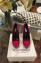 AUTHENTIC YSL shoes || Brand new || pink || size 37 || retails $1450 Moore Park Inner Sydney Preview