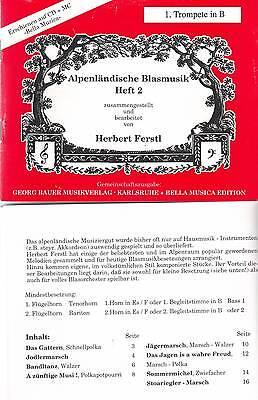 Alpenlandische Blasmusik Vol.2 German Oktoberfest Band Sheet Music