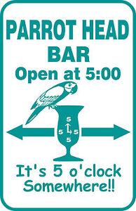 Custom-Buffett-Parrothead-Bar-Beer-Beach-Pool-Key-West-Tropical-Gift-Sign-13