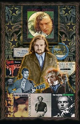 """Van Morrison11x17"""" Fan Poster . 2-FOR-1 Special Pop Up SALE!  Buy One, Get TWO! for sale  Shipping to Canada"""