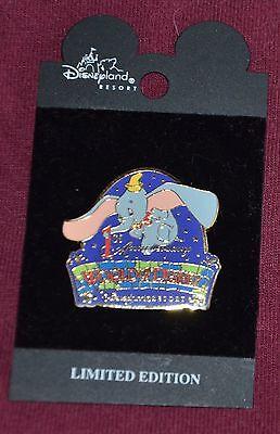 Disneyland WORLD OF DISNEY 1ST ANNIVERSARY DUMBO LE 2000 Pin - Disney Pins