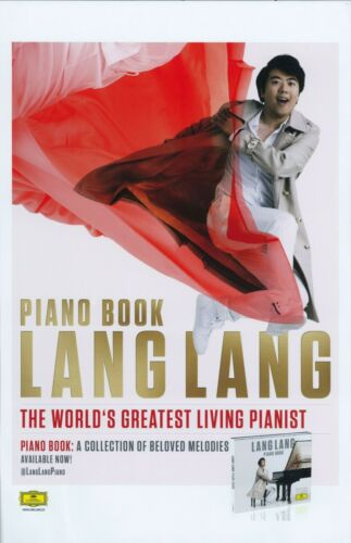 LANG LANG Album POSTER Piano Book 11x17