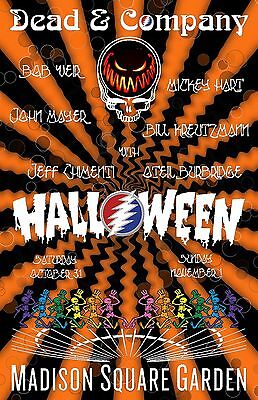 Dead & Company Poster Halloween Madison Square Garden NYC 10/31/15 Grateful Dead (Halloween Nyc Party)