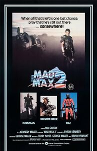 Mad Max Road Warrior movie poster - Mel Gibson - 11 x 17 inches