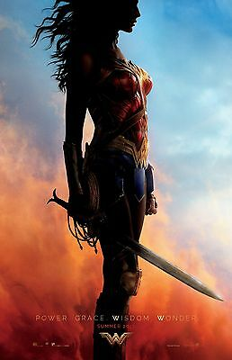 Wonder Woman poster 11 x 17 inches - Gal Gadot - (2017) Justice League