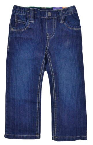 Boys Jeans THERMAL LINED Straight Legged Two Styles Dark Wash Denim