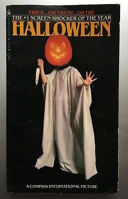 Halloween - Curtis Richards - Novel of Film - Bantam Books True 1st Edition 1979](Halloween Novel)