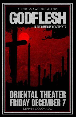 Godflesh Concert Poster